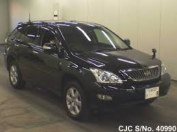 cars toyota black 2008 toyota harrier black for sale stock no 40990 japanese