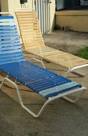Restrapping Patio Chairs Patio Chair Straps Vinyl Furniture Replacement Home Depot