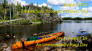 Boundary Waters Map August 2016 Solo Boundary Waters Trip Day One An Unexpectedly
