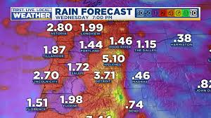 Florence Oregon Map by Fox 12 Weather Blog Kptv Fox 12