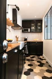 deco cuisine noir et blanc modele cuisine noir et blanc best of cuisine noir laqu deco salon