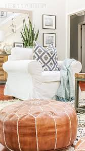 Where To Get Cheap Bedroom Furniture by How To Buy Leather Moroccan Poufs On The Cheap Boho Leather Ottomans