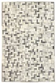 Area Rug Grey by Directory Galleries Modern Leather Area Rugs