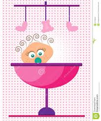 baby shower its a dotted background stock vector image