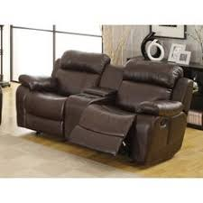 Reclining Sofa With Center Console Reclining Sofa With Center Console