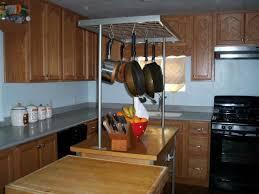 kitchen island with pot rack make it stop pot racks house photos