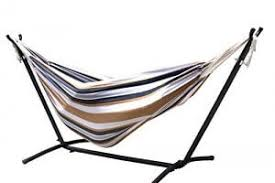 zeny double hammock 9 u0027 with space saving steel stand review the