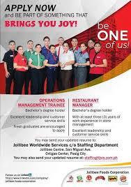 resume for part time job in jollibee foods tuguegarao city jollibee group of companies onsite facebook