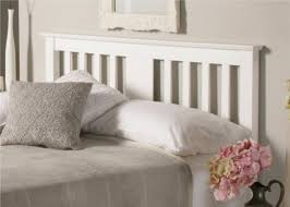 Wooden White Bed Frames Malmo White Wooden Bed Frame