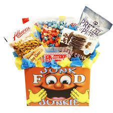 junk food basket junk food junkie gift basket for the junk food lover