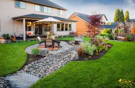 22 beautiful river rock landscaping ideas home and gardens