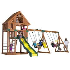 shop backyard discovery quest expandable residential wood playset
