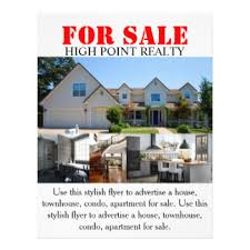 real estate flyers u0026 programs zazzle