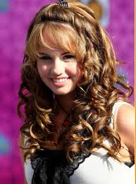 hairstyle for long hair curly hair for party 15lovely party