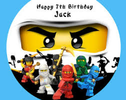 ninjago cake topper hello personalised cake topper edible wafer paper