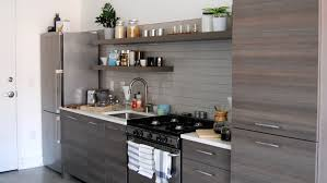 kitchen cabinets above sink 5 ways to decorate a windowless kitchen wall kitchn