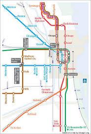 cta line map a cta map for 2055 gapers block detour chicago