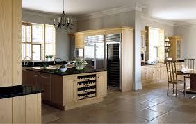 cuisines bois massif cuisine marbre et bois