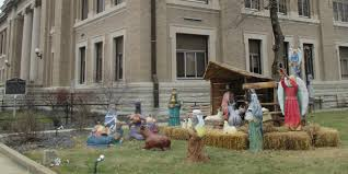 judge tosses aclu suit over indiana nativity scene