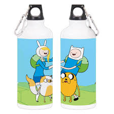 adventure time adventure time finn jake fionna and cake water bottle
