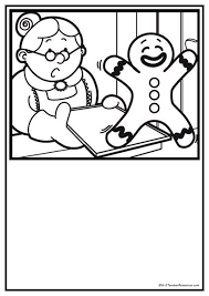 the gingerbread man coloring pages 110 best fairytales pepparkaksgubben the gingerbread boy