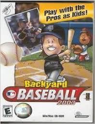 Backyard Baseball Ds Backyard Baseball 2003 Pc Nerd Bacon Reviews