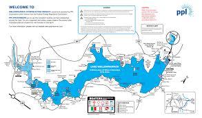Map Of Lake Washington by Map Of Lake Wallenpaupack Lake Wallenpaupack Poconos Pa