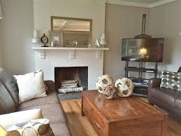 living room painted brick decora white brick ideas clean