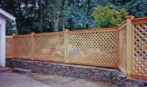 wood lattice wall how to build a wood lattice fence from scratch