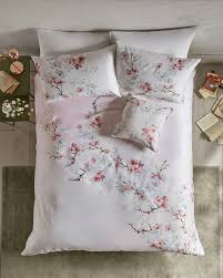 Duvet Cover For Baby Oriental Blossom Cotton Double Duvet Cover Baby Pink Gifts For
