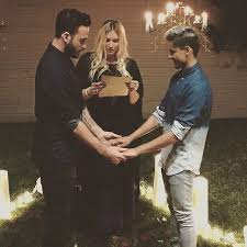 how to officiate a wedding kesha officiating a wedding on instagram popsugar