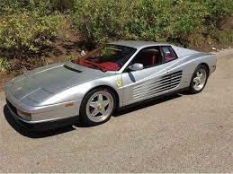 1989 testarossa for sale testarossa for sale on classiccars com 21 available