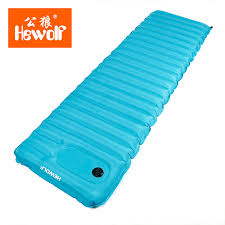 brand single foot air pump water inflatable bed water dual use air