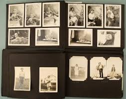 antique photo album 2 antique family photo albums 1920s 40s children 100