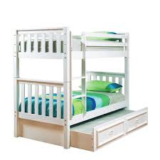 bunk beds loft beds kids double king queen white black