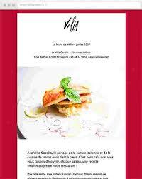 cuisine des terroirs italie villa casella recettes