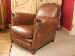 Swivel Chair Ireland F675 S Magnificent Antique French Leather Club Chair With Cloud