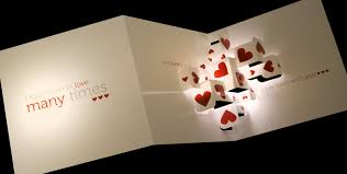 3d pop up cards bring delight to every event