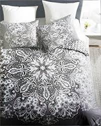 amazon com artisan ny bedding 3 piece reversible king duvet cover