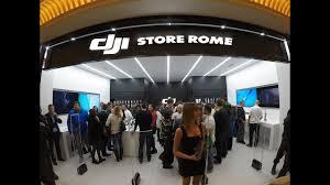 Home Design Stores Rome Apertura Del Primo Negozio Europeo Dji Store A Roma Youtube