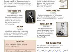 black history month worksheets u0026 free printables education com