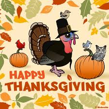 happy thanksgiving in holidays