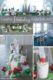 Whimsical Christmas Decorations Ideas How To Make A Simple Holiday Dining Room Table Centerpiece U2022 Our