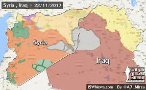 syria on map battle map of syria and iraq