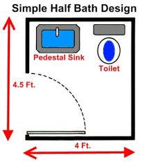 Tiny Bathroom Floor Plans Best 25 Tiny Half Bath Ideas On Pinterest Rustic Shelves Half