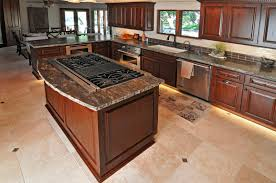 Kitchen Islands With Cooktop Scane Cabinets