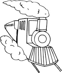 coloring page train car train 3 coloring page