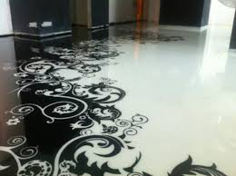 floor design spectacular self leveling floor designs adding surprising optical