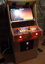 Turn A Coffee Table Into An Awesome Two Player Arcade Cabinet by I Built An Arcade Cabinet