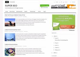 templates for blogger for software super seo blogger template lovely templates